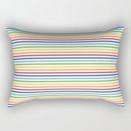 Vintage T-shirt No7 Rectangular Pillow