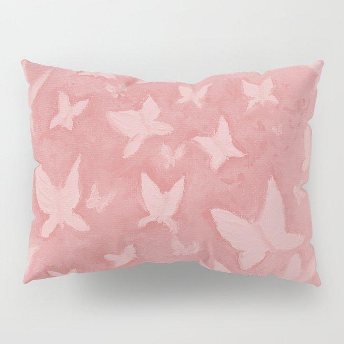 Blushing Butterflies Pillow Sham