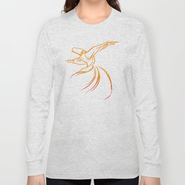 Sema The Dance Of The Whirling Dervish Long Sleeve T-shirt