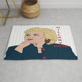 Hillary Clinton 2016 Rug
