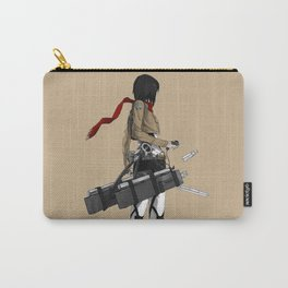 Mikasa Ackerman Pose Carry-All Pouch