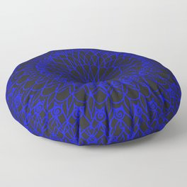 Contrast Mandala Floor Pillow