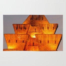 Durga Puja straw pandal Rug