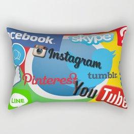 Media Darling Rectangular Pillow