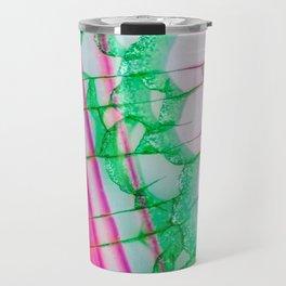 Psychedelic Tie Dye Quartz Travel Mug