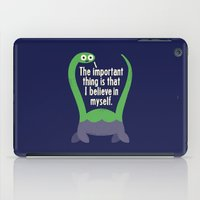 letter iPad Cases featuring Myth Understood by David Olenick