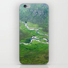 Highland Mountain Rivers iPhone Skin