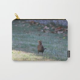 Small Bird Staying In The Shade Carry-All Pouch
