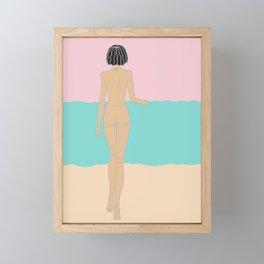 just Dive-IN Framed Mini Art Print