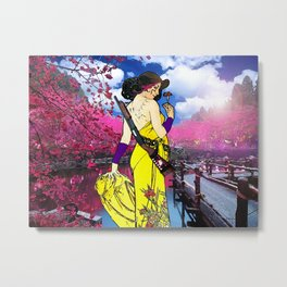 Solace in Spring Metal Print