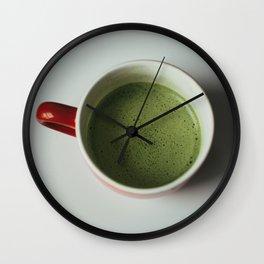 Matcha Mug Wall Clock