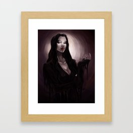 Morticia Framed Art Print