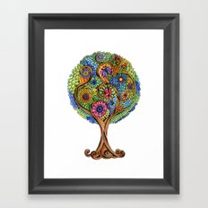 Magical tree Framed Art Print