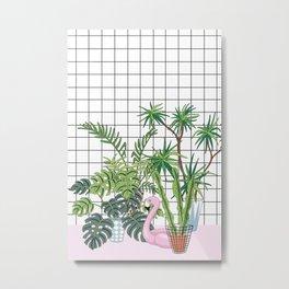 room plants Metal Print