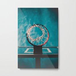 basketball hoop 6 Metal Print