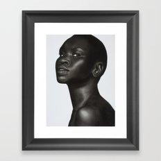 2: Rhinoceros Women Series Framed Art Print