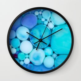 Bubbles Art Jayden Wall Clock