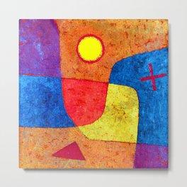 Paul Klee Holy Angel Metal Print
