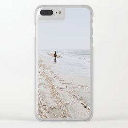 Lets Surf VII Clear iPhone Case