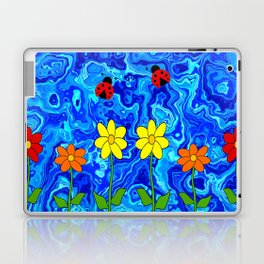 Blue Sky Summers Day Laptop & iPad Skin