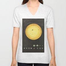 Planetary Arrangement Unisex V-Neck