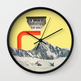 A Good Morning To You Wall Clock