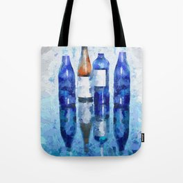 """""""Wine Reflection"""" by Lena Owens Tote Bag"""