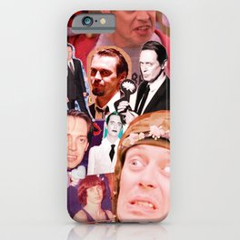 Buscemi Collage iPhone Case