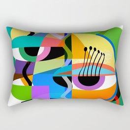 Picasso's Child Rectangular Pillow