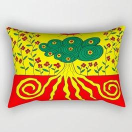 Tentacled tree Rectangular Pillow