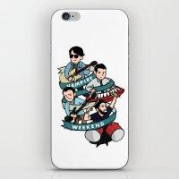 vampire weekend iPhone & iPod Skins featuring Vampire Weekend by Knifeson