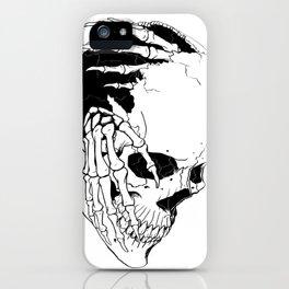 Skull #7 (Creeping Hands) iPhone Case