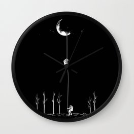 Down from the Moon Wall Clock