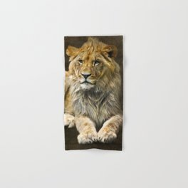 The young lion Hand & Bath Towel
