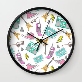 Livin in the 90s Wall Clock