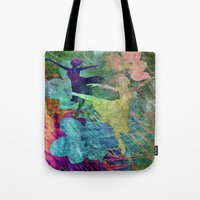 ballet Tote Bags featuring Ballet by Vitta