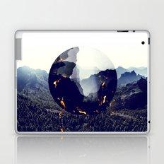Falling forest Laptop & iPad Skin