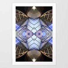 ECA 0215 (Symmetry Series) Art Print