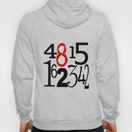 The Numbers in White Hoody