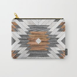 Urban Tribal Pattern No.8 - Aztec - Wood Carry-All Pouch