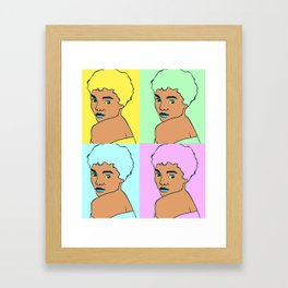 Eartha Framed Art Print