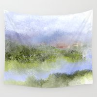 italian Wall Tapestries featuring Italian Impressions by Jessielee