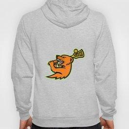 Mongoose Lacrosse Mascot Hoody