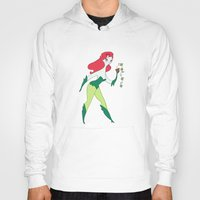 poison ivy Hoodies featuring Poison Ivy by Kathryn Hudson Illustrations