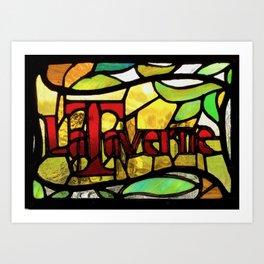 Bar Art Print