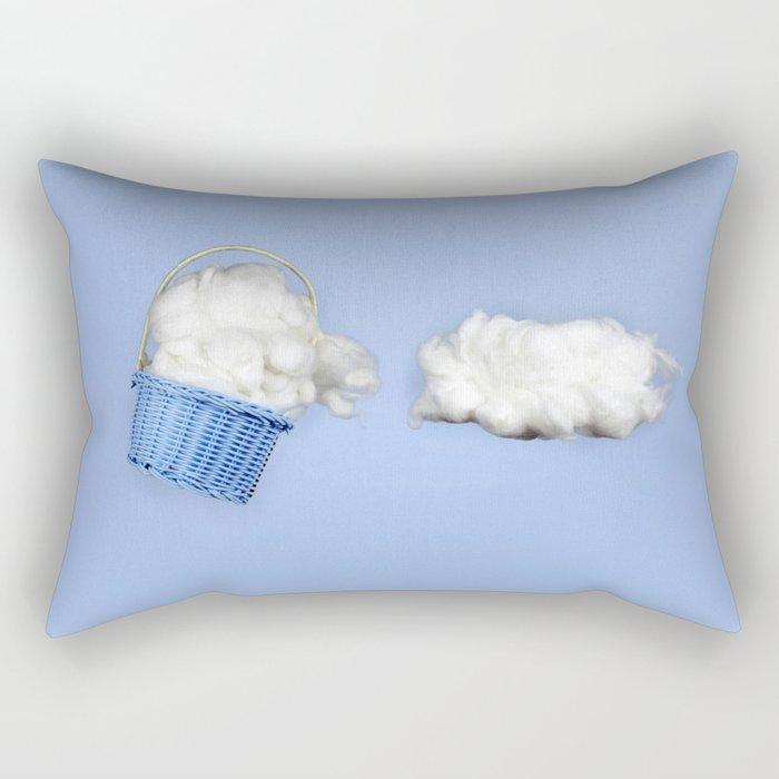 The cloud harvester Rectangular Pillow