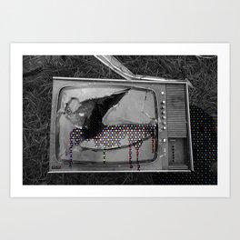 CRT X-Sanguination Art Print