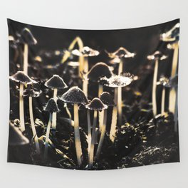 Wild Mushroom's Forest Wall Tapestry