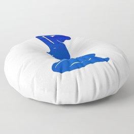 Blue Nude Floor Pillow