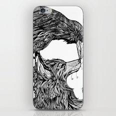 Fox and the Crow iPhone & iPod Skin